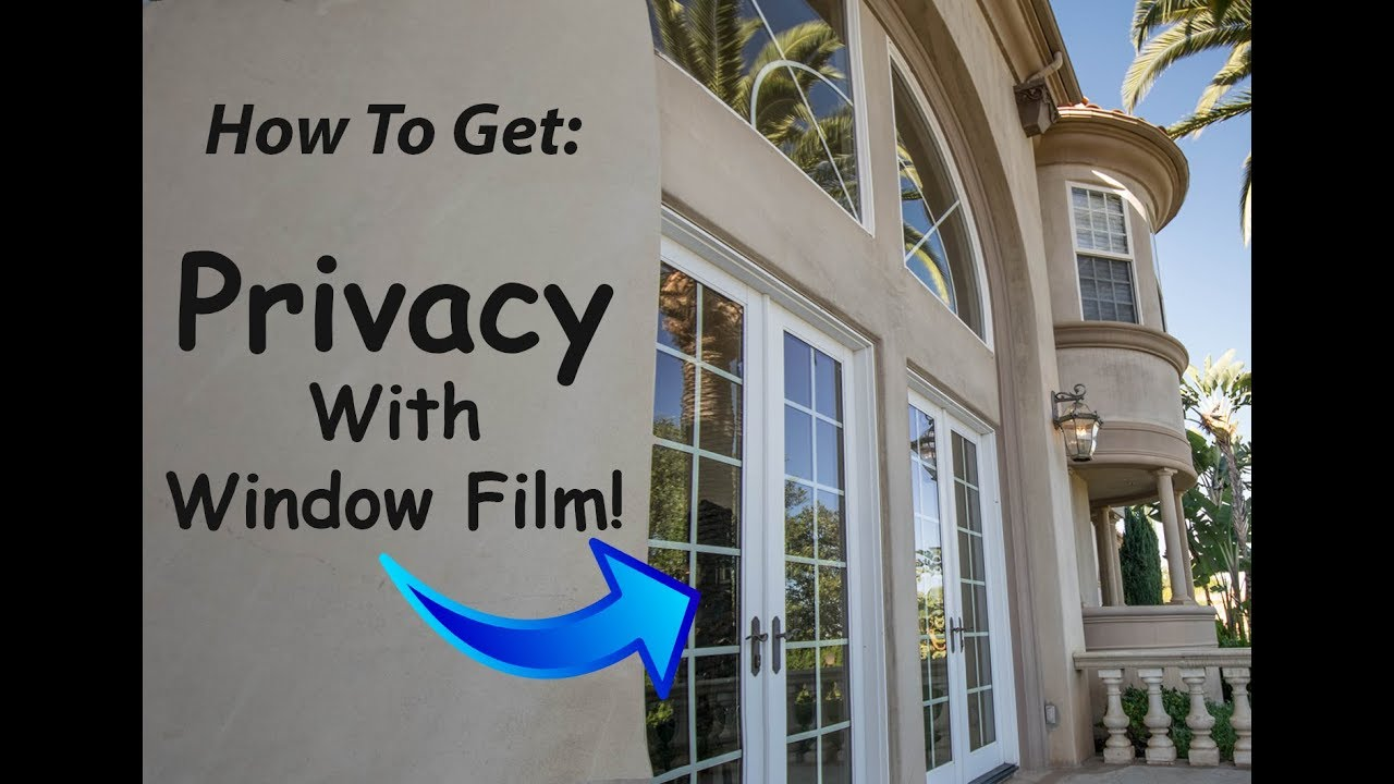 Privacy Window Tinting For Your for Edmond Home