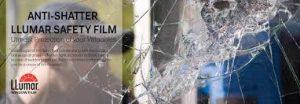 anti shatter safety film