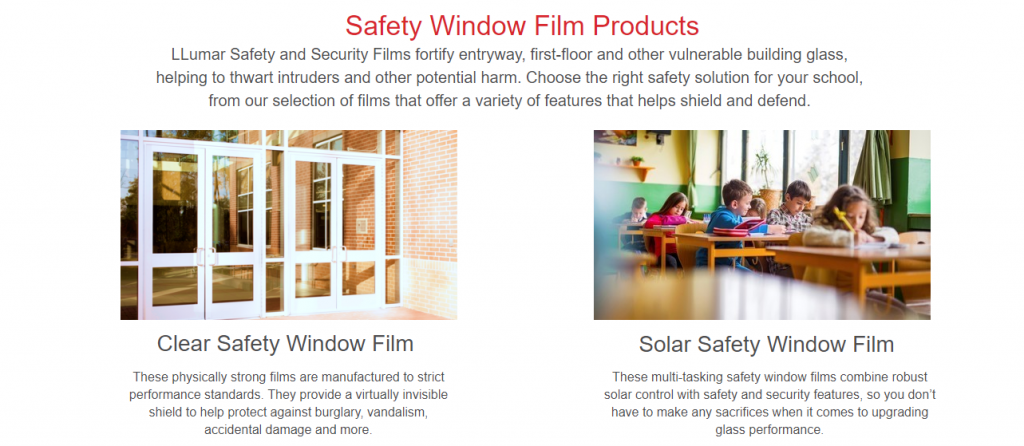 safety window film edmond