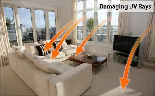 fade prevention window film