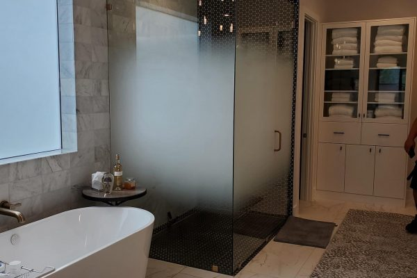 frost film shower door