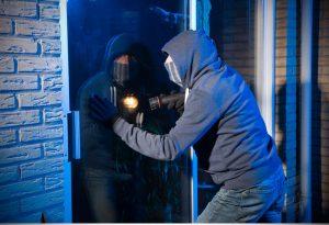 security film against burglars